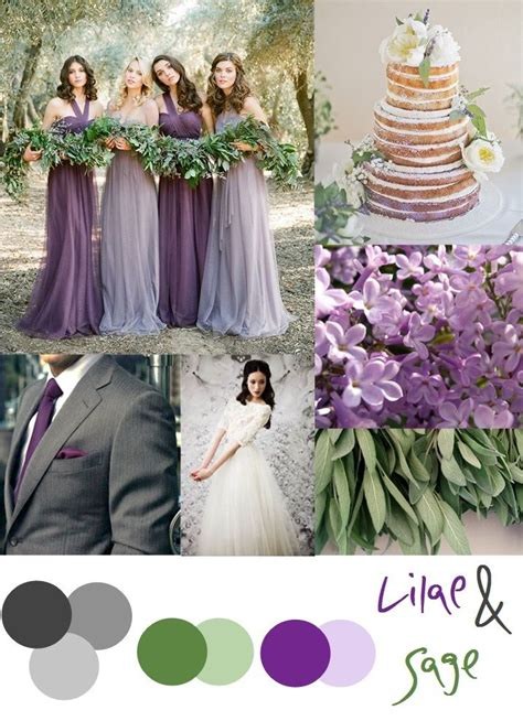 Wedding Colour Schemes Lilac | lilac and sage wedding color palette wedding wishes