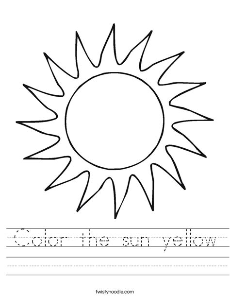sun layers coloring page sun worksheets worksheets releaseboard free printable