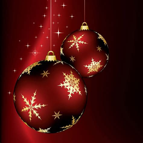 ipad wallpapers   christmas ornaments ipad