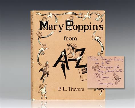 mary poppins from a mary poppins p l travers first edition signed
