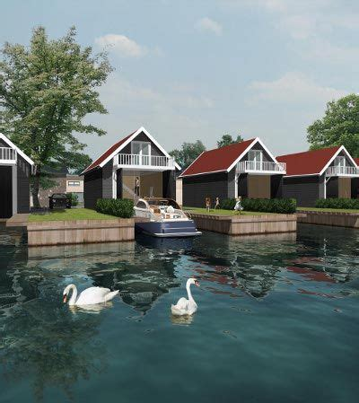 boat house new haven schiphuizen haven resort heeg new england style classic