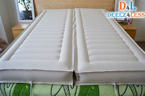 select comfort beds select comfort sleep number queen size 2 air chamber for