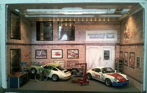 Diorama Werkstatt 1 18 by Magnus Walker S Porsche Diorama 1 18 Magnus Walker