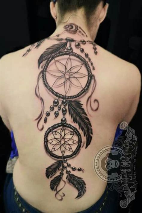 tattoo dream catcher on back dreamcatcher tattoo back atrapa sue 241 os espalda work