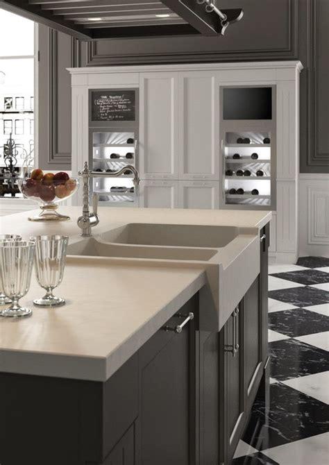 desain dapur putih desain dapur bertema klasik hitam putih rancangan desain