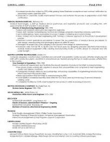 sustainability consultant resume environmental and