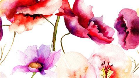 wallpaper flower art beautiful art flower watercolor wallpaper hd 14 high