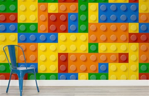 Childrens Wall Mural colourful lego wallpaper wall mural muralswallpaper co uk
