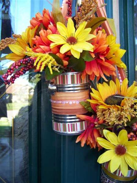 simple fall flower arrangements  gorgeous party table