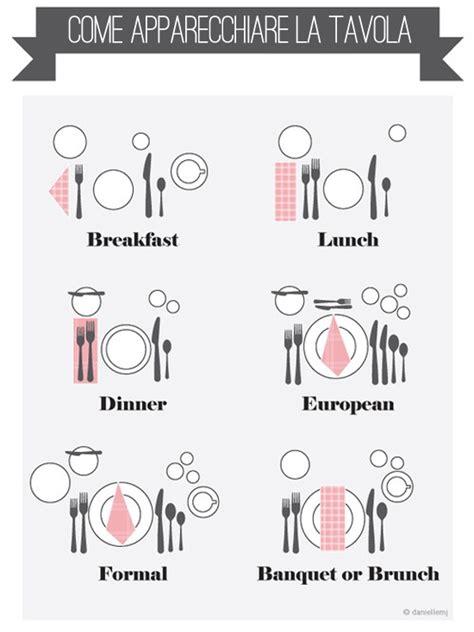 come si apparecchia tavola come si apparecchia la tavola dalla colazione alla cena