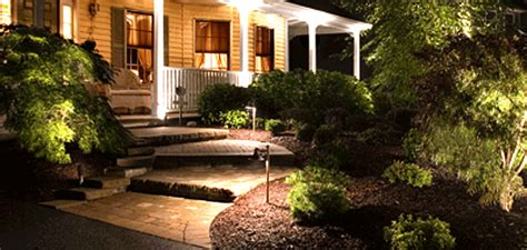 Low Volt Landscape Lighting Low Voltage Exterior Lighting Create An Eye Catching Landscape