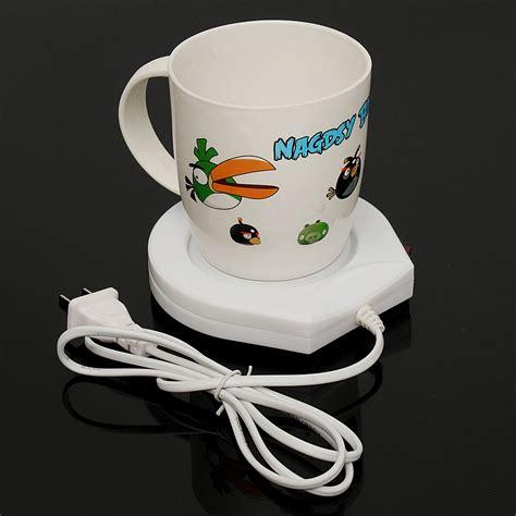 electric rug warmer 220v white electric powered cup warmer heater pad coffee tea milk mug us alex nld