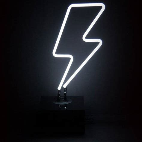 neon light wall art cool lightning bolt designs www imgkid com the image