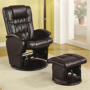 Small Black Recliner Black Leather Recliner Chair With Back Also Arm Rest Plus