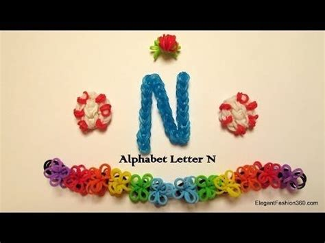 Loom Letter M by 1000 Images About Rainbow Loom Letters On The