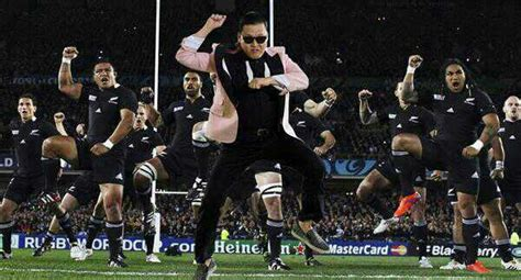 All Blacks Meme - the all blacks do gangnam style balls ie