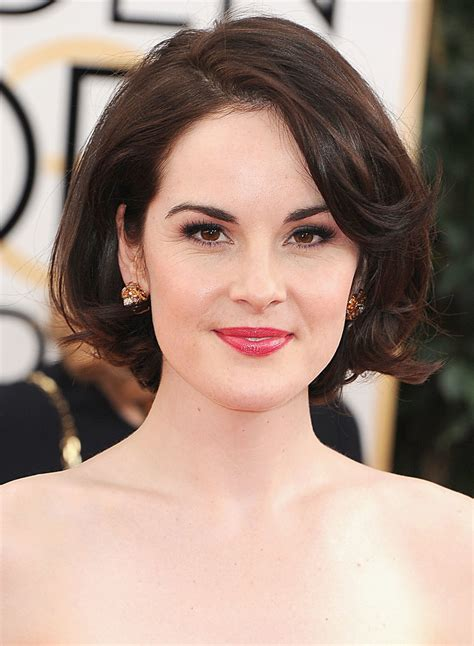 michelle dockery bob look to try in the new year the bob lex loves couture