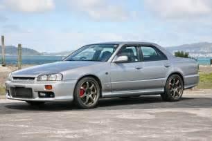 4 Door Nissan Skyline R34 Nissan Skyline R34 4 Door With Rb26dett Motor Rwd