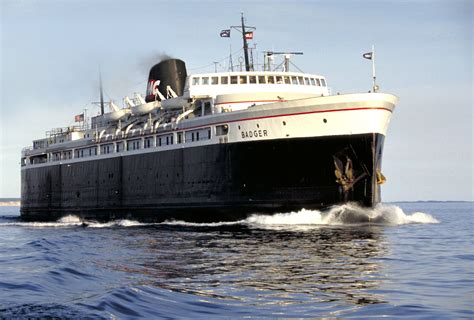 ferry boat lake michigan lake mich ferry nears deadline to end ash dumping the blade