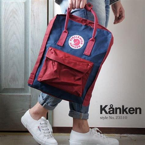 Fjallraven Kanken Classic Oxred Royal Blue Backpack Tas fjallraven kanken classic backpack royal blue ox products products