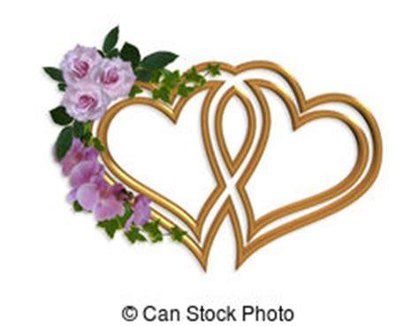 Hochzeitskarten Design by Blumen Orchideen Umrandungen Einladung Illustrationen Und
