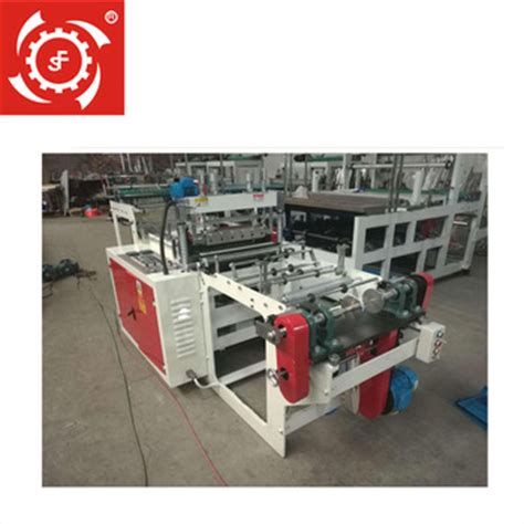 Small Scale Paper Bag Machine - automatic small scale shopping plastic bag machine