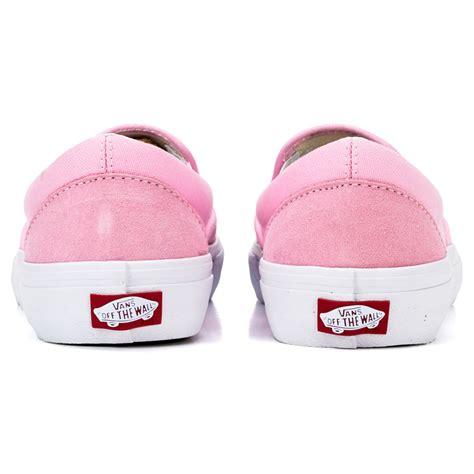 Sepatu Slip On Hd 05 Pink 5 vans slip on pro shoe pink at skate pharm
