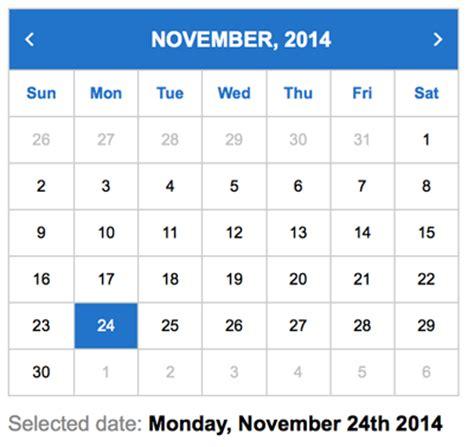 Html Calendar Code Angularjs Tutorial Series Part 1 Building A Calendar