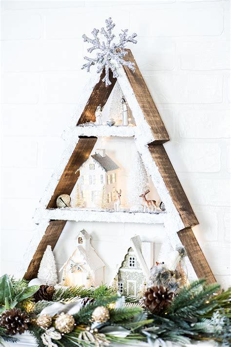 unusual diy christmas trees   materials