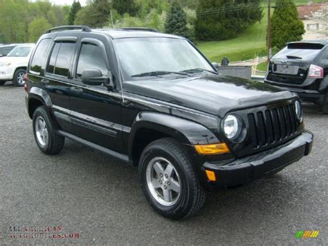 black jeep liberty 2005 2005 jeep liberty renegade 4x4 in black clearcoat 690257