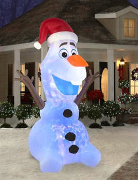 12 frozen olaf disney snowman outdoor yard decoration ebay
