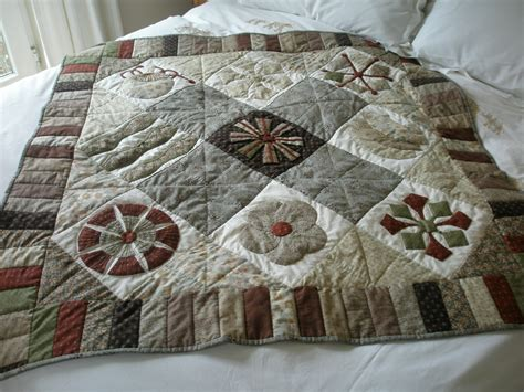 Japanese Taupe Quilts by Sashiko And Other Stitching Japanese Quilt Blocks