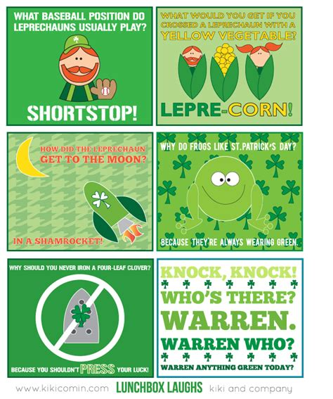 s day puns 14 free sets of lunchbox laughs and notes free