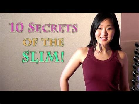 7 Secrets Of Naturally Slim by 10 Secrets Of The Naturally Slim Shhhh