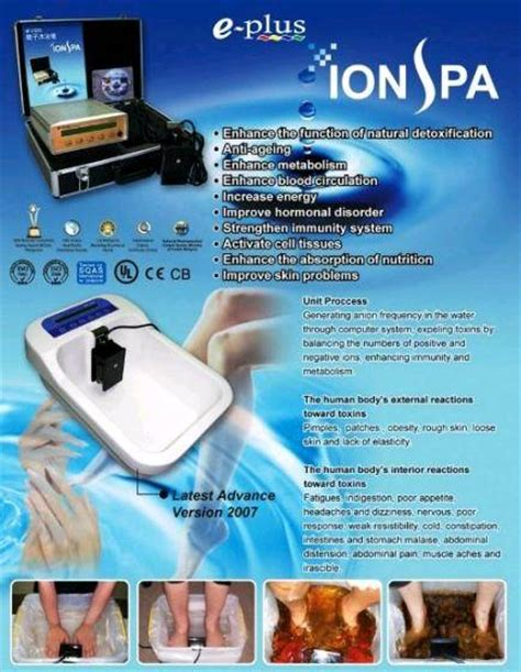 Foot Detox Machine India by Ion Cleanse Foot Spa Machine 2715808 Product Details