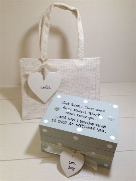 shabby personalised chic gift set special friend husband