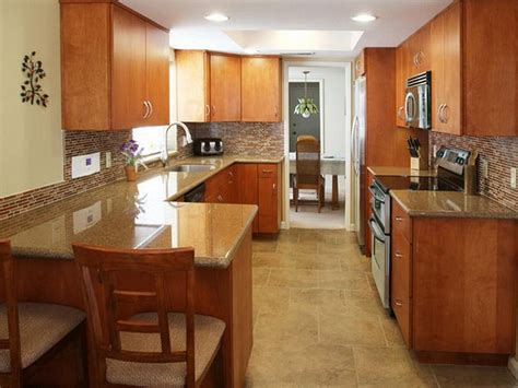 Galley Kitchen Renovation Ideas | fresh low budget galley kitchen remodel 15524