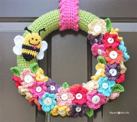 Tas Ransel Vans Of The Wall Yl crocheted wreath repeat crafter me