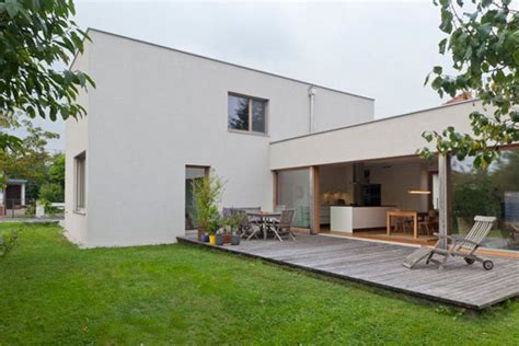ultra contemporary home overlooking the city of linz comfortable rectangular home in the idyllic country of