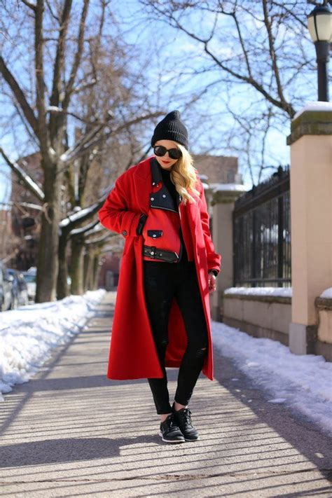 How To Make Your Heels Comfortable 13 Fashionable Red Coats Ideas For New Year