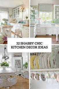Chic kitchen decor ideas cover 32 shabby chic kitchen decor ideas