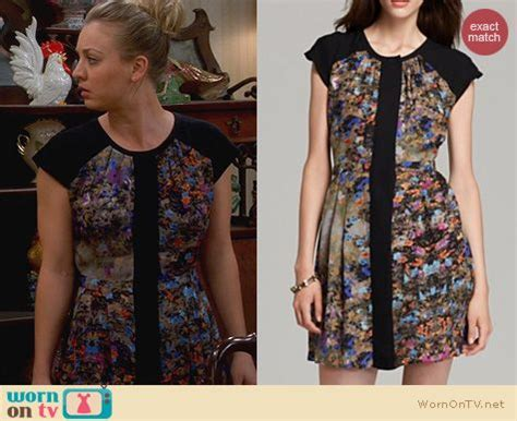 The Big Theory Wardrobe by Wornontv Penny S Thanksgiving Dress On The Big