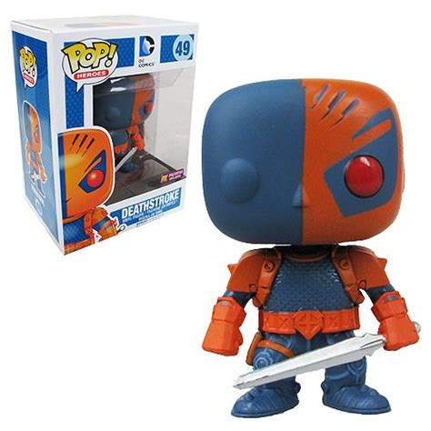 Funko Pop Deathstroke Dc dc comics deathstroke previews exclusive pop vinyl figure