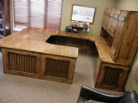 Rustic Home Office Desk Rustic Office Desk Rustic Home Office Omaha By Modern Country Concepts