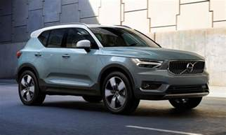 Volvo Compact Suv Volvo Xc40 Compact Suv Takes Aim At German Rivals