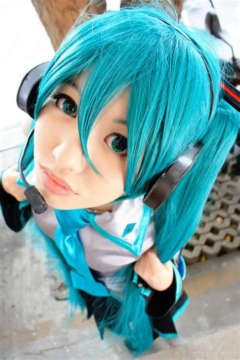 anime cosplay girl wallpaper cosplay vocaloid hatsune miku anime manga wallpaper