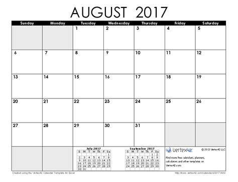 printable weekly calendar 2017 australia august and september 2017 calendar downloadclipart org