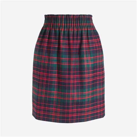 Plaid Pleated Mini Skirt pleated mini skirt in plaid factory