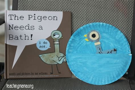pigeon activities inspired by mo willem s books