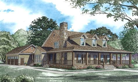Country House Plans With Wrap Around Porches by Cabin House Plans With Wrap Around Porch Rustic Cabin